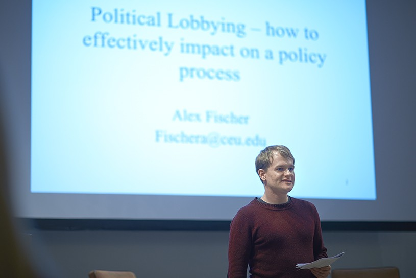 Alex Fischer - Political Lobbying